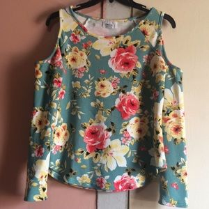 OMEGA collection blouse floral (S)